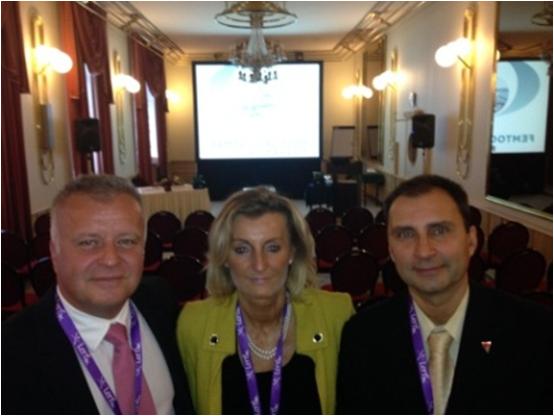 Bereczki Árpád, Ratkay Imola & Módis László, II. Femtosecond Congress, Budapest