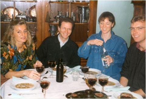 Imola Ratkay-Traub, Werner Förster, Eva & Stephan Grewe, Münster