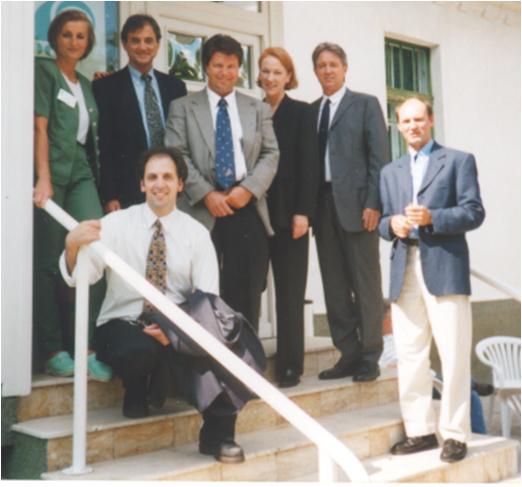 I Ratkay, S Trockel, VISX csoport, R Alexander, R Kurtz, Juhász T, Herczku I FM-ban, Budapest