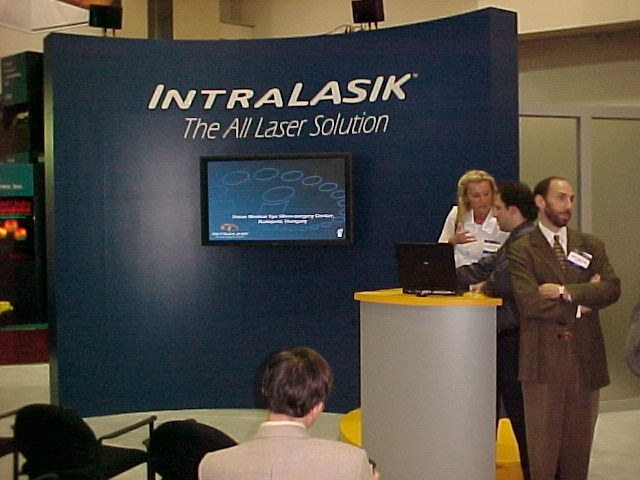 2001 Dallas, AAO IntraLase, Imola Ratkay-Traub & Ron Kurtz