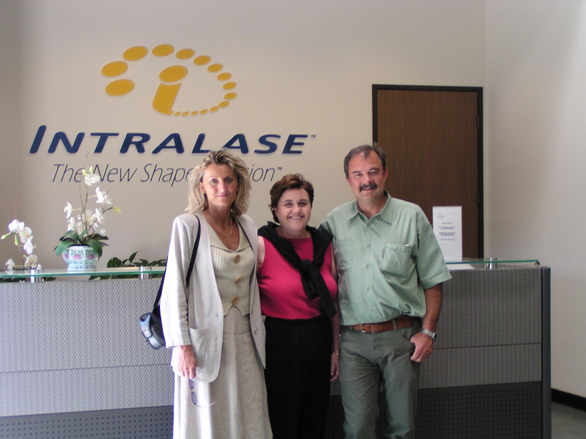 Ratkay Imola, Bor Zsolt, IntraLase Irvine USA
