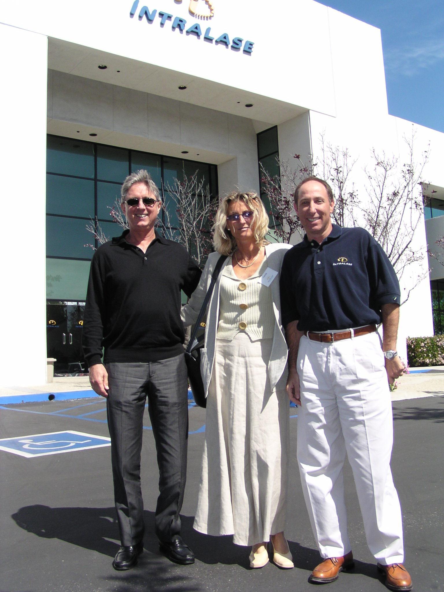 Randy Alexander, Imola Ratkay-Traub, Eric Weinberg, IntraLase Irvine USA