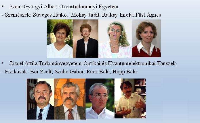 1990. Első magyarországi excimer lézeres kutatócsoport