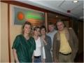 RVO team: Ratkay I, Radnóti J,  T  Mettepeningen, K Holliday, Traub A