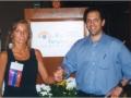 Ron Kurtz & Imola Ratkay-Traub, 1999 Miami FL USA