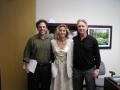Ron Kurtz, Imola Ratkay-Traub, Randy Alexander,  IntraLase Irvine USA